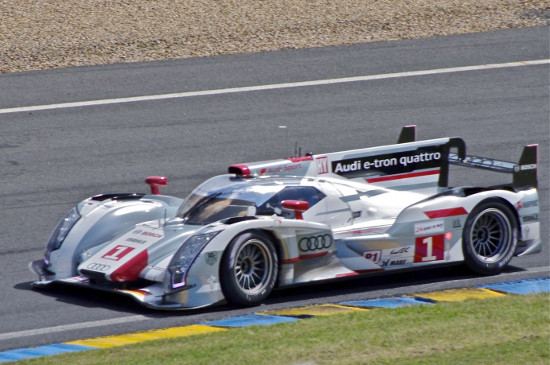 Audi R18 e-tron quattro at 2012 24 Hours of Le Mans